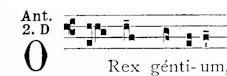 22 Dec O Rex gentium