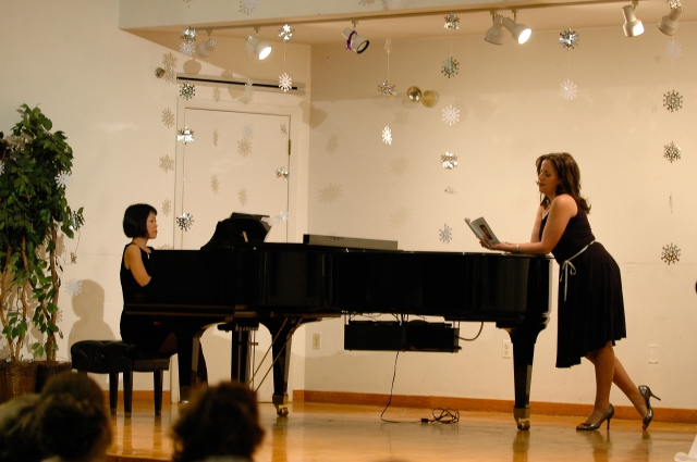 An old concert photo. Because why would I have a photo of myself in a lesson?